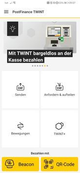 PostFinance TWINT Plakat