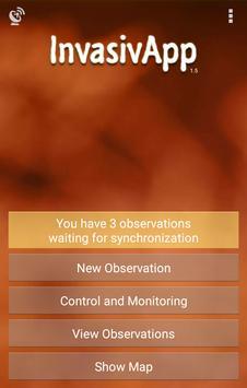 InvasivApp poster