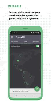 ProtonVPN screenshot 2