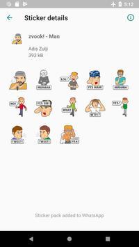 zvook! Stickers - WAStickerApps screenshot 1