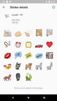 zvook! Stickers - WAStickerApps screenshot 2