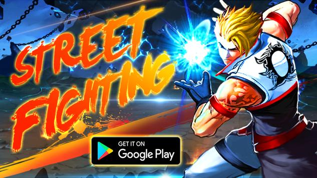 Street Fighting:City Fighter Affiche