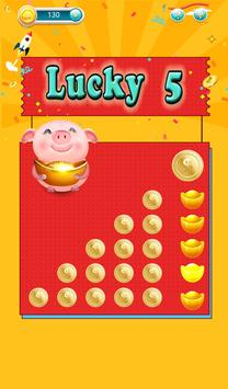 rich lottery-online lottery-slot machine poster