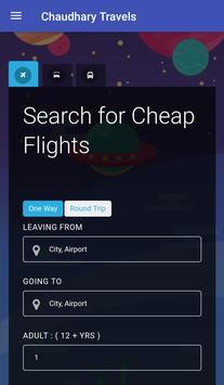 Chaudhary Travels screenshot 1