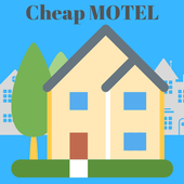 Cheap Motel Booking icon