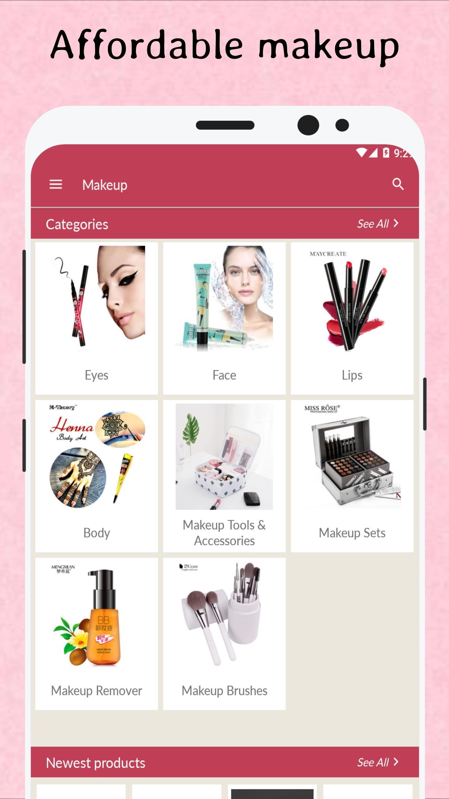 Сheap Makeup Ping Online Cosmetics