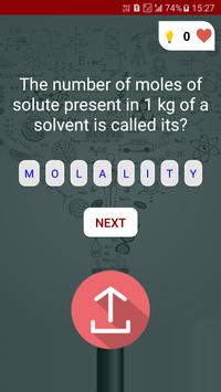 Chemistry Quiz screenshot 6
