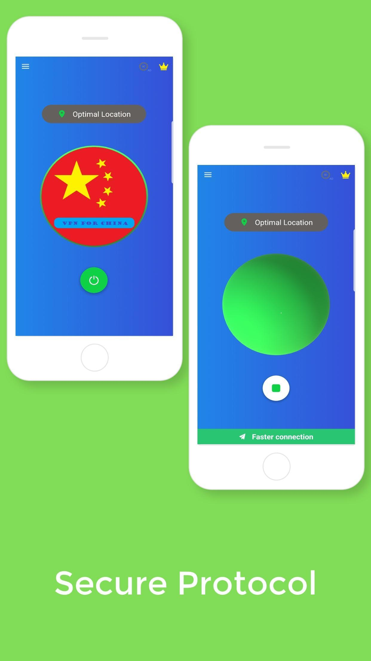 China VPN - Free VPN Proxy & Wi-Fi Security for Android