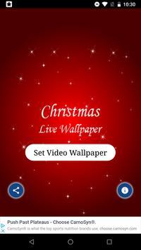 Christmas Live Wallpaper - Amazing Wallpaper poster