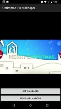 Christmas Live Wallpaper - Amazing Wallpaper screenshot 2