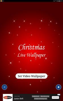 Christmas Live Wallpaper - Amazing Wallpaper screenshot 4