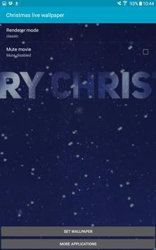 Christmas Live Wallpaper - Amazing Wallpaper screenshot 9
