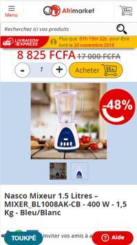 Shopping en ligne :  Afrimarket Côte d'Ivoire screenshot 1