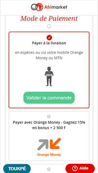 Shopping en ligne :  Afrimarket Côte d'Ivoire screenshot 5