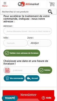 Shopping en ligne :  Afrimarket Côte d'Ivoire screenshot 6