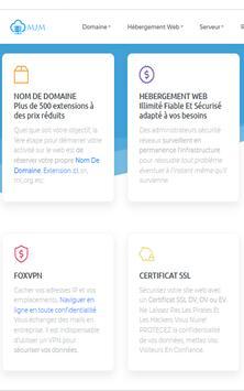 www.MJM.ci Leader Nom De Domaine & Hébergement Web screenshot 1