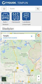 Cityguide Templin screenshot 1