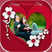 Valentine Photo Frame: Valentine Photo Editor icon
