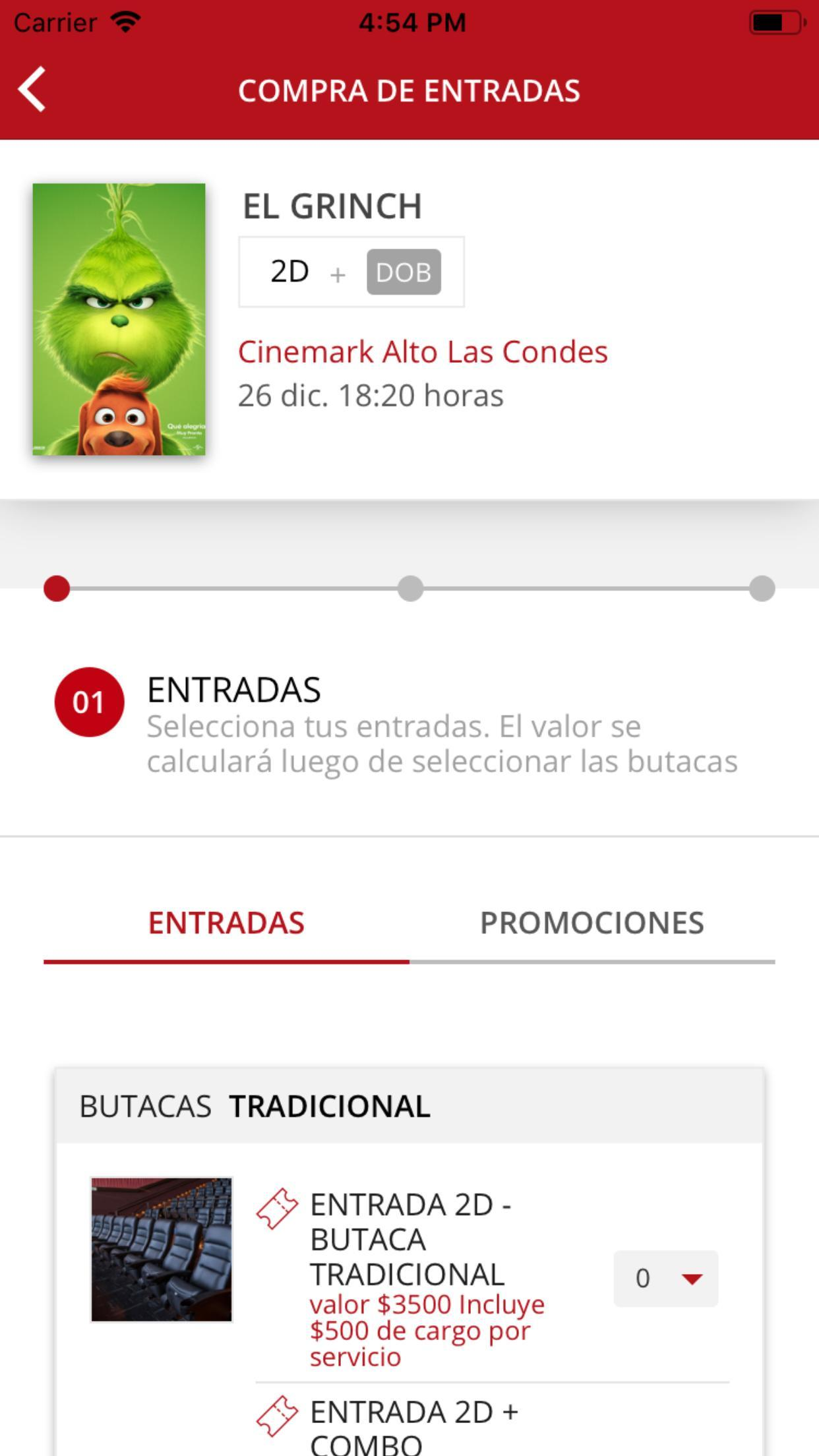 Cinemark Chile for Android - APK Download
