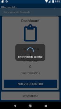 Ifop Registro de actividad diaria screenshot 4