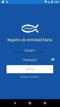 Ifop Registro de actividad diaria screenshot 1