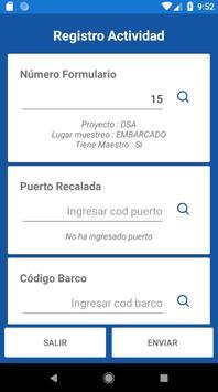 Ifop Registro de actividad diaria screenshot 3