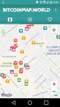 BITCOINMAP.CASH - Bitcoin Cash Map poster