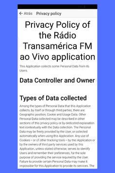 Rádio Transamérica FM ao Vivo screenshot 4
