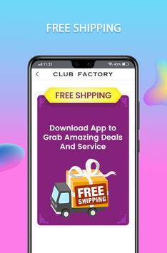 Club Factory स्क्रीनशॉट 4