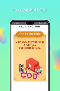5 Schermata Club Factory