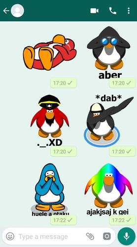Club Pinguino Stickers Para Whatsapp For Android Apk Download