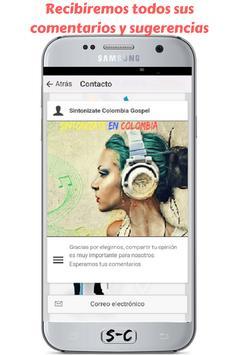 Radio Sintonizate Colombia Gospel - Gratis screenshot 14