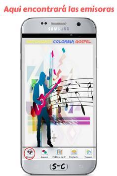 Radio Sintonizate Colombia Gospel - Gratis screenshot 1