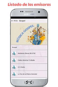 Radio Sintonizate Colombia Gospel - Gratis screenshot 2