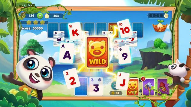 Klassischer Solitaire Panda Screenshot 1