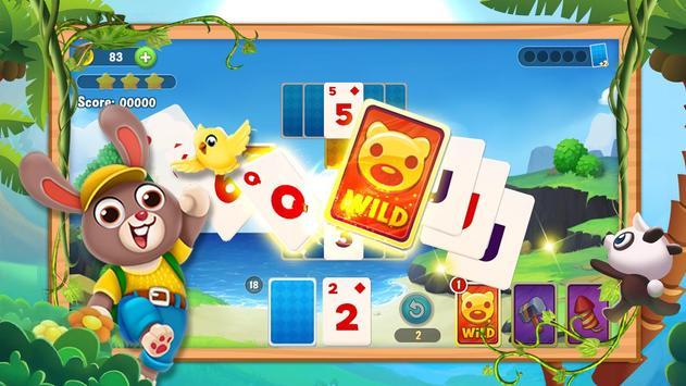 Klassischer Solitaire Panda Screenshot 3