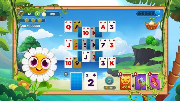 Klassischer Solitaire Panda Screenshot 7