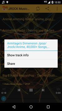 JROCK Music ONLINE screenshot 1