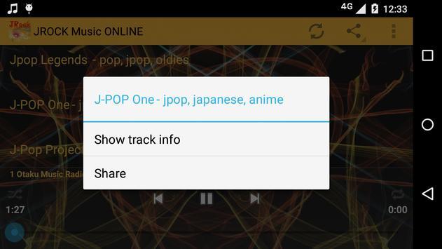 JROCK Music ONLINE screenshot 4