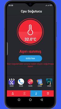 Temizleyici Optimize Edici Soğutucu Pil Tasarrufu Ekran Görüntüsü 12