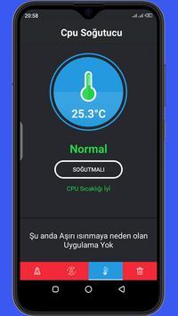 Temizleyici Optimize Edici Soğutucu Pil Tasarrufu Ekran Görüntüsü 14