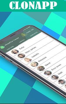 Clonapp Messenger imagem de tela 1