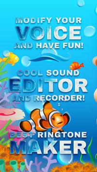 Clownfish Voice Changer poster