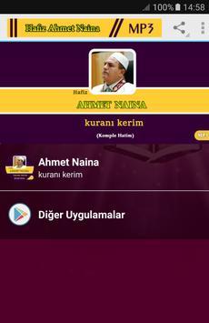 Ahmet Naina kuranı kerim Mp3 poster