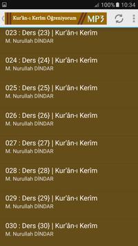 kuranı kerim Öğreniyorum Mp3 Nurullah DİNDAR screenshot 2