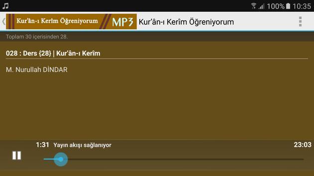 kuranı kerim Öğreniyorum Mp3 Nurullah DİNDAR screenshot 4