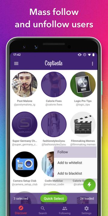 Captivate for IG for Android - APK Download