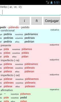 Spanish Verb Conjugator screenshot 1