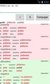 Spanish Verb Conjugator screenshot 2