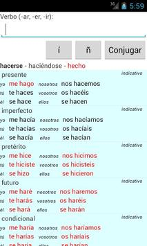 Spanish Verb Conjugator screenshot 5